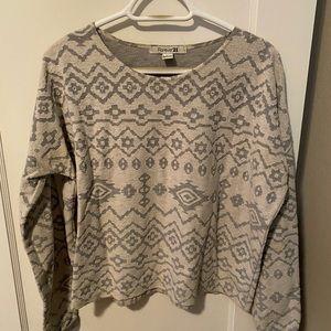 Winter pattern light sweater